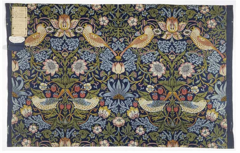 Strawberry Thief, 1883, William Morris