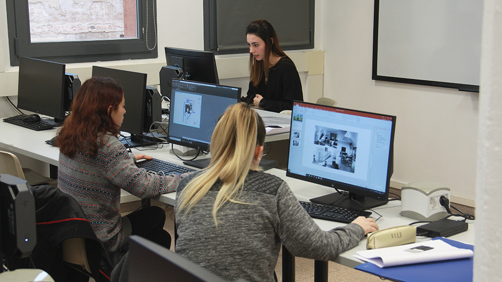interior design, esdi students, informatics, projects