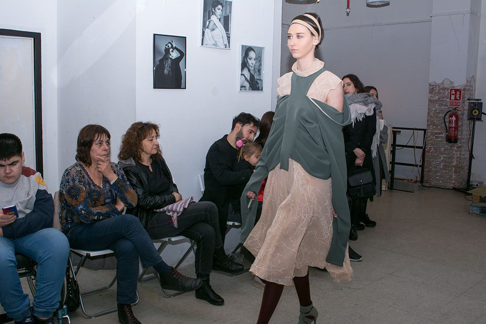 fashion show, arteria bcn, barcelona, final degree projects