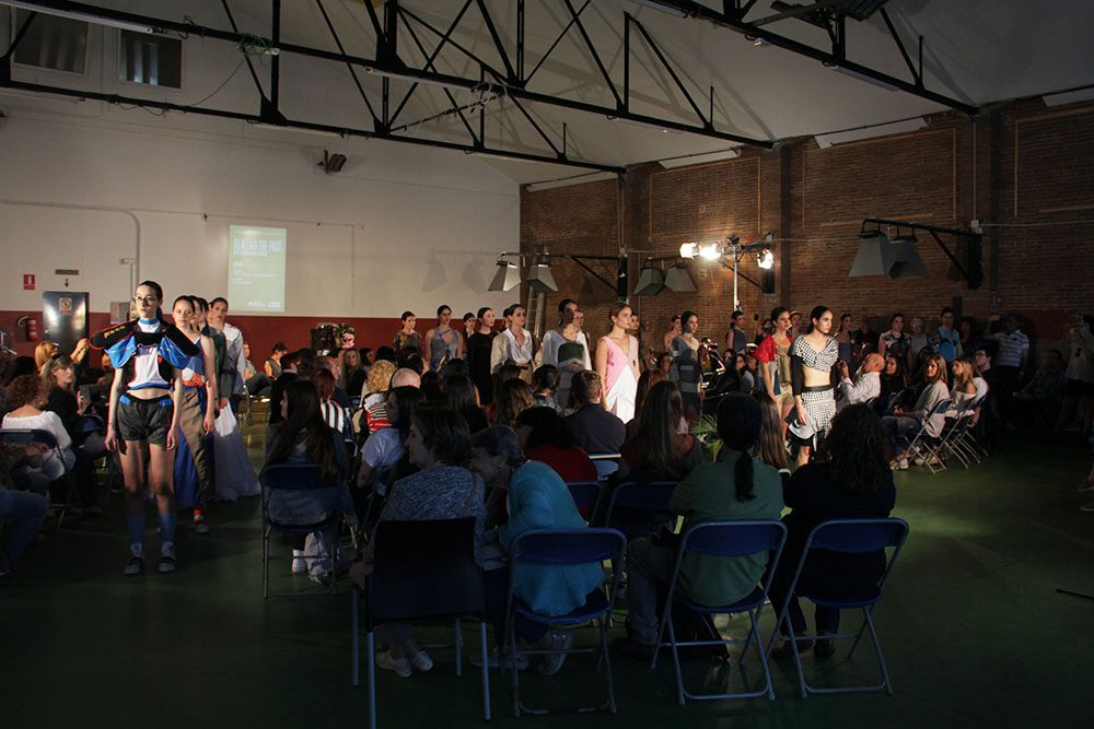 ecodesign, sustainable fashion, fashion show, upcycled garments