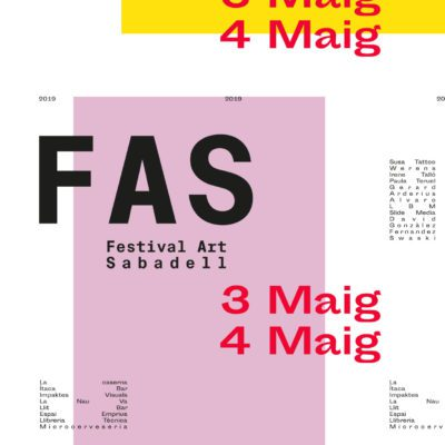 final degree project, helena mateo, festival d'art de sabadell, pfg esdi, design management, degree in design