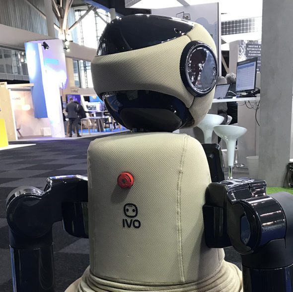 ivo, robot ayuda ciudadana, iri, smart city expo world congress